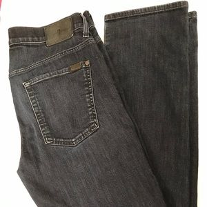 7 For All Mankind The Straight High Rise Jeans 36
